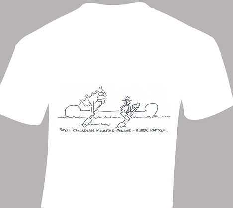 Mountie River Patrol T-Shirt