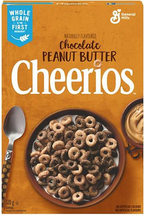 Cheerios Chocolate Peanut Butter Cereal - 320g