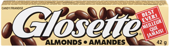 Hershey Glosette Almonds 4 Pack