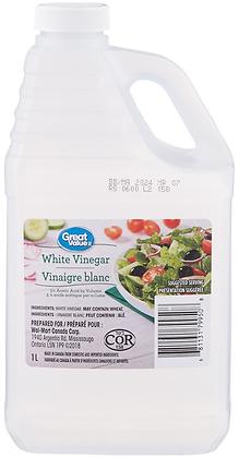 Great Value Pure White Vinegar - 1000g