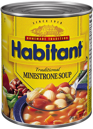 Habitant Traditional Minestrone Soup - 796g