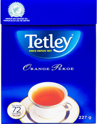 Tetley Orange Pekoe Tea 72 Bags - 227g