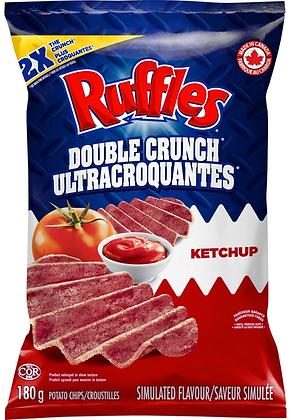 Ruffles Double Crunch Ketchup Potato Chips - 180g