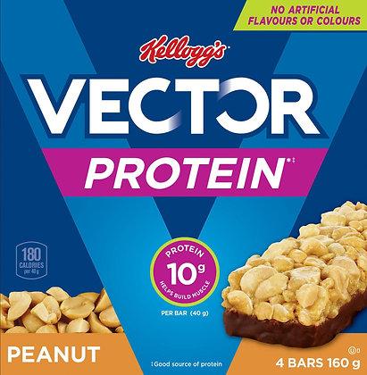 Vector Protein Bars Peanut - 160g