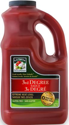 E.D. Smith 3rd Degree Sauce - 3.7L