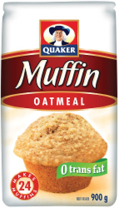 Quaker Oatmeal Muffin Mix - 900g