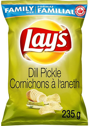 Lay's Dill Pickle Potato Chips - 235g