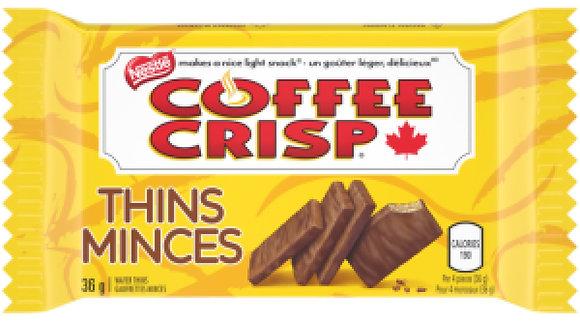Nestle Coffee Crisp Thins 4 Pack