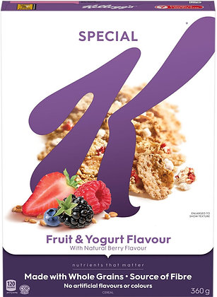 Kellogg's Special K Fruit and Yogurt Cereal - 360g