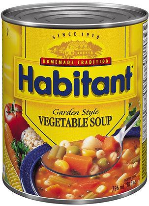 Habitant Garden Style Vegetable Soup - 796g