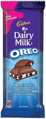 Cadbury Dairy Milk Oreo Chocolate Bars  12/Case