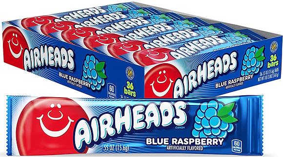 Airheads Taffy Bars Blue Raspberry - 36ct - 562g