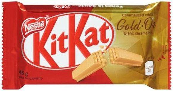 Nestle Kit Kat Gold Chocolate Bars  48/Case