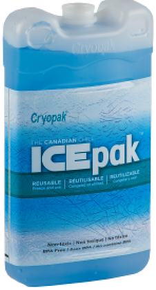 CryoPak Ice Packs 5 Pack - 2270g