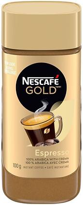 Nescafe Gold Espresso Instant Coffee - 100g