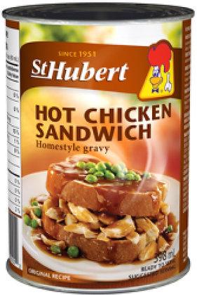 St Hubert Hot Chicken Sandwich - 398g