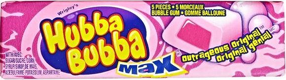 Hubba Bubba Max Gum, Original - 5x18 - 1.75lb(794g)