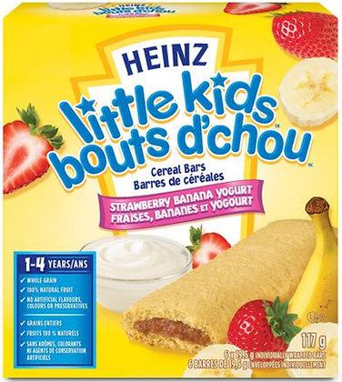 Heinz Little Kids Cereal Bars Strawberry Banana - 117g