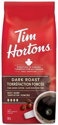 Tim Hortons Dark Roast Fine Grind - 300g