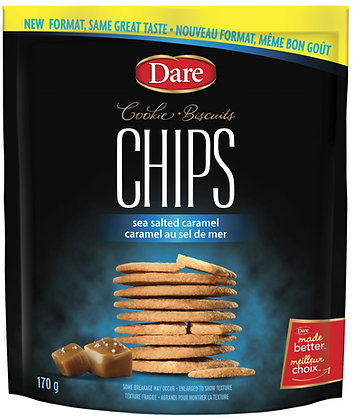 Dare Cookie Chips Sea Salted Caramel - 170g
