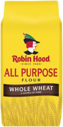 Robin Hood Whole Wheat All Purpose Flour - 2495g