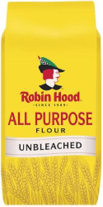 Robin Hood Unbleached All Purpose Flour - 2495g