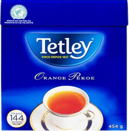 Tetley Orange Pekoe Tea 144 Bags - 454g