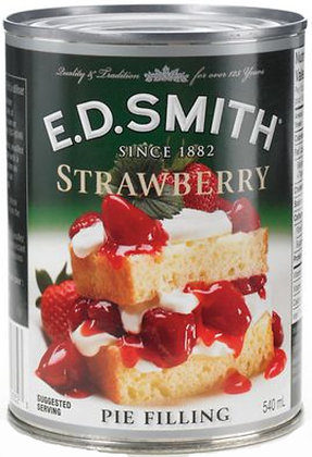 E.D. Smith Strawberry Pie Filling - 540g