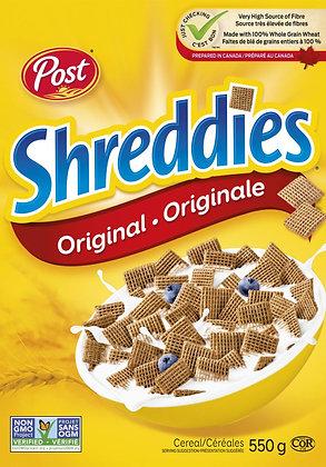 Post Shreddies Original Cereal - 550g