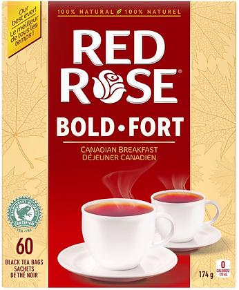 Red Rose Canadian Breakfast Tea 60 Bags - 174g
