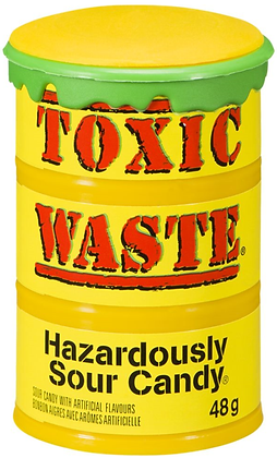 Toxic Waste Sour Drums - 12ct - 576g