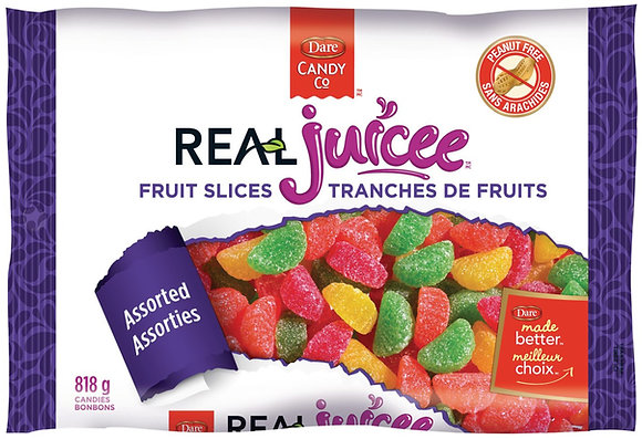Dare Real Juicee Fruit Slices - 818g