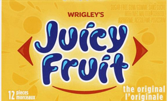 Juicy Fruit Original Chewing Gum - 12x12 - .62lb(281g)