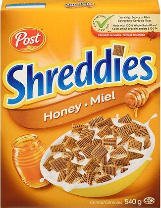 Post Honey Shreddies - 540g