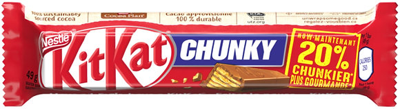 Nestle Kit Kat Chunky Chocolate Bars 4 Pack