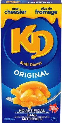 Kraft Dinner Original Macaroni & Cheese - 225g