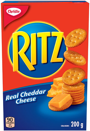 Ritz Cheddar Cheese Crackers - 200g