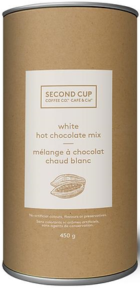 Second Cup White Hot Chocolate Mix - 450g