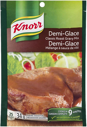 Knorr Demi-Glace Classic Roast Gravy Mix - 34g