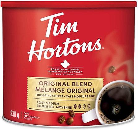 Tim Hortons Original Fine Grind - 930g