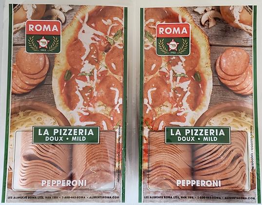 Roma La Pizzeria Mild Pepperoni - 750g