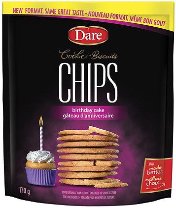 Dare Cookie Chips Birthday Cake - 170g