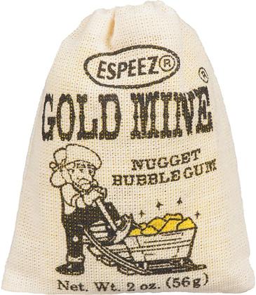 Gold Mine Bubble Gum - 12ct - 672g