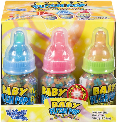Baby Flash Pop - 12ct - 540g