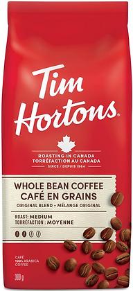 Tim Hortons Original Blend Whole Bean Coffee - 300g