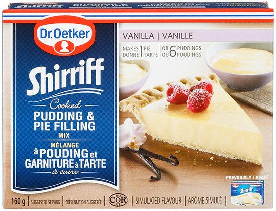 Dr Oetker Vanilla Pudding Pie Filling - 160g
