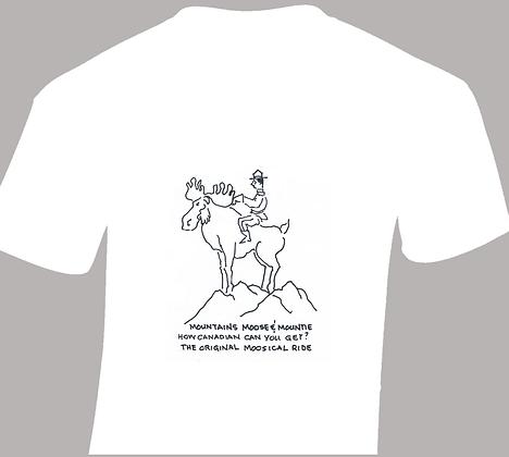 Mountie Moosical Ride T-Shirt