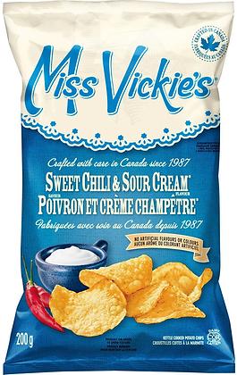 Miss Vickie's Sweet Chili & Sour Cream Potato Chips - 200g