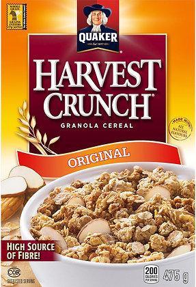 Quaker Harvest Crunch Granola Cereal - 475g