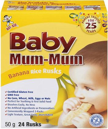 Baby Mum-Mum Banana Rice Rusks - 50g